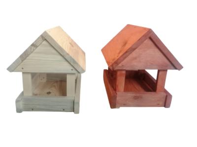 Karmnik dla ptaków drewniany