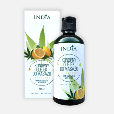 Olejek do masażu cytrusowy 100 ml