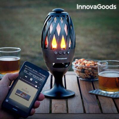 Latarnia LED Bluetooth z Głośnikiem