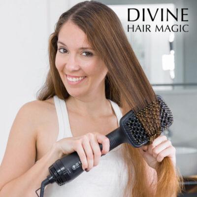 Szczotka Elektryczna Susząca Włosy