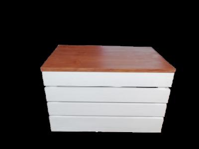 Pufa drewniana 50 x 30 x 30