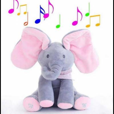 Śpiewający mały słonik – różowy